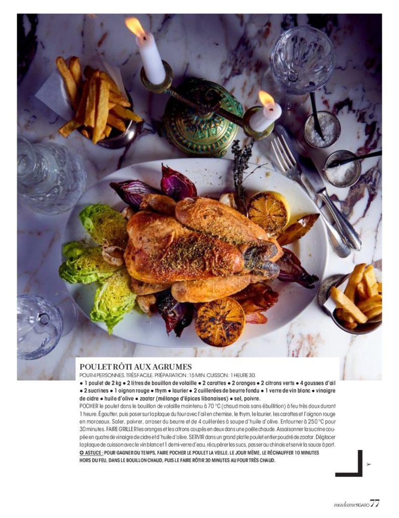 Madame figaro lifestyle cuisine alcazar - Madame figaro cuisine ...